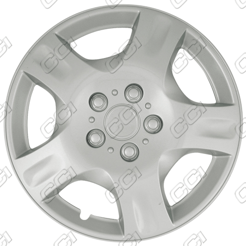 "Nissan Altima  2002-2004, 16"" 5 Spoke - Silver Wheel Covers"