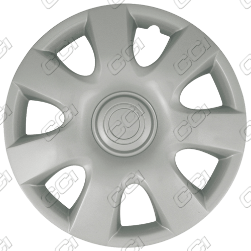 "Toyota Camry  2002-2004, 15"" 7 Spoke - Silver Wheel Covers"