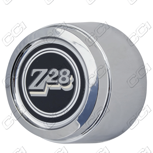 Chevrolet Camaro Z28 1977-1979 , Chrome Wheel Center Caps
