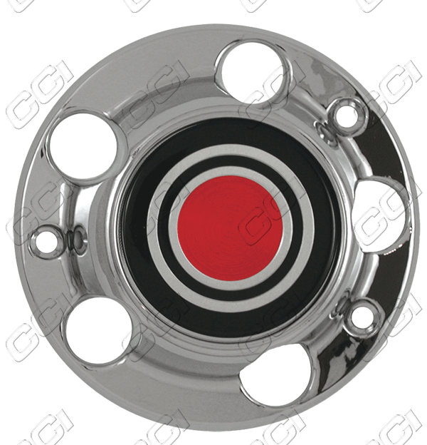 Ford F150  1980-1992 , Red Wheel Center Caps