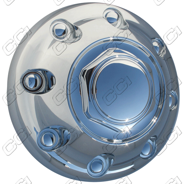 Dodge Ram 2500 2000-2002 , Chrome Wheel Center Caps