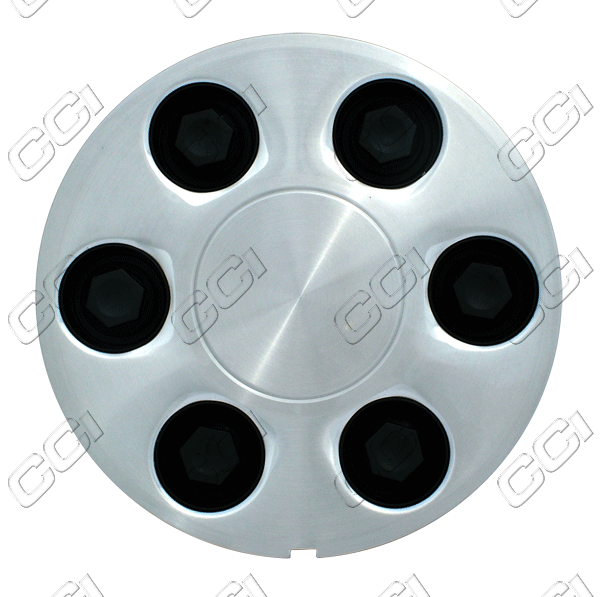 Chevrolet Astro  2003-2005 , Brushed Aluminum Wheel Center Caps