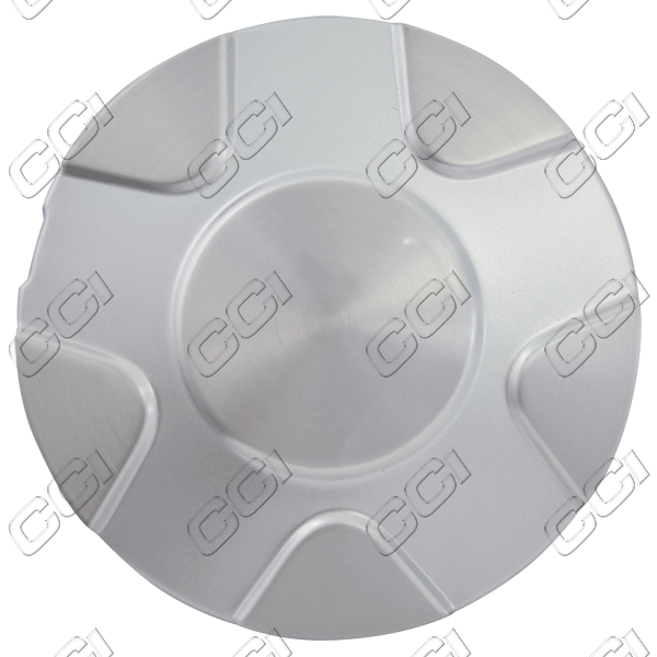 Chevrolet Trailblazer  2002-2003 , Brushed Aluminum Wheel Center Caps