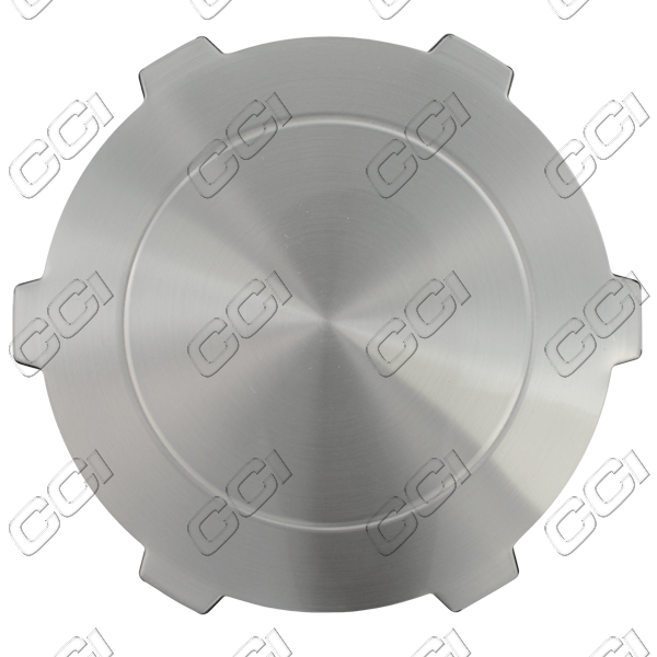 Gmc Sierra  2004-2007 , Brushed Aluminum Wheel Center Caps