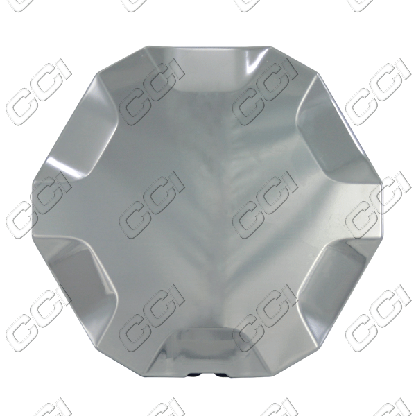 Gmc Envoy  2007-2009 , Brushed Aluminum Wheel Center Caps