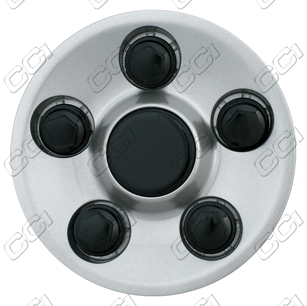 Pontiac Grand Am  2002-2005 , Silver Wheel Center Caps