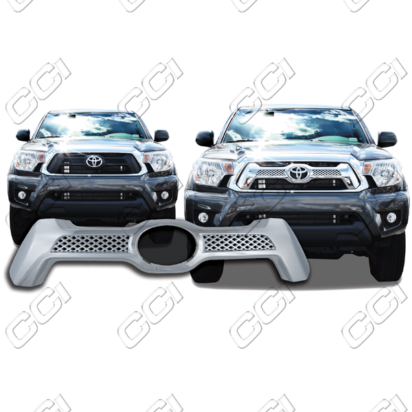 Toyota Tacoma  2012-2013 Chrome Front Grille Overlay