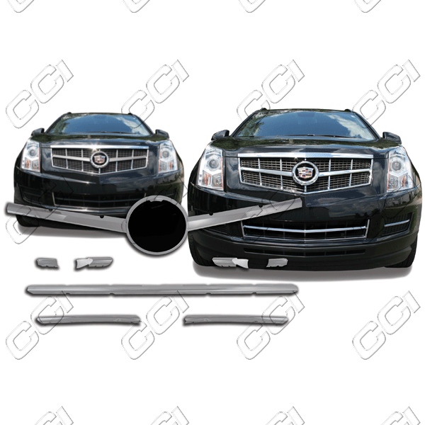 Cadillac Srx  2010-2012 Chrome Front Grille Overlay
