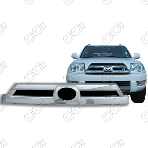 Toyota 4Runner Limited 2003-2005 Chrome Front Grille Overlay
