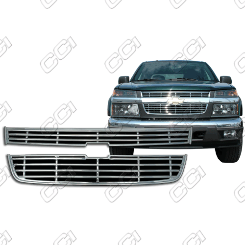Chevrolet Colorado Ls, Z71, Z85 2004-2012 Chrome Front Grille Overlay