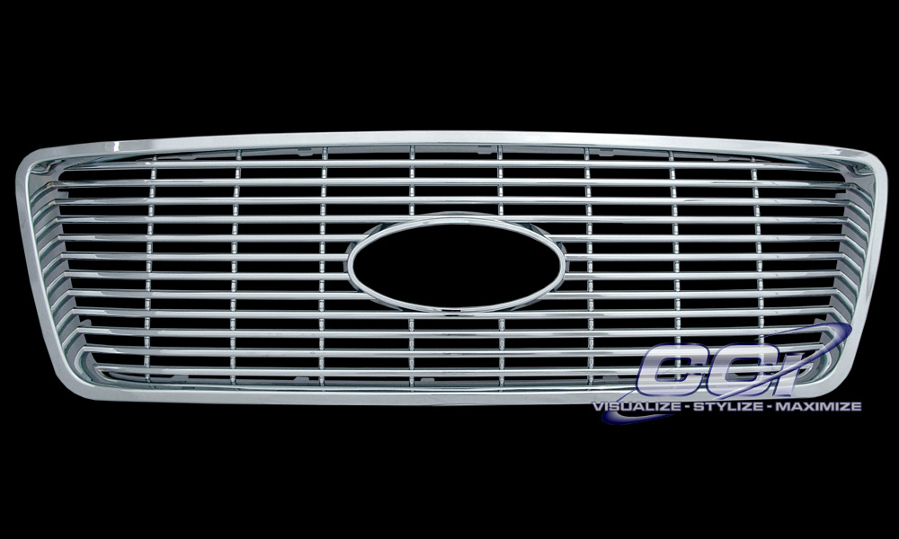 Ford F-150 2005-2007 Chrome Grill Insert