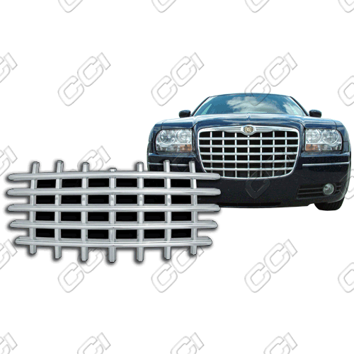 Chrysler 300C Base, Touring, Limited, SRT8 2004-2010 Chrome Front Grille Overlay
