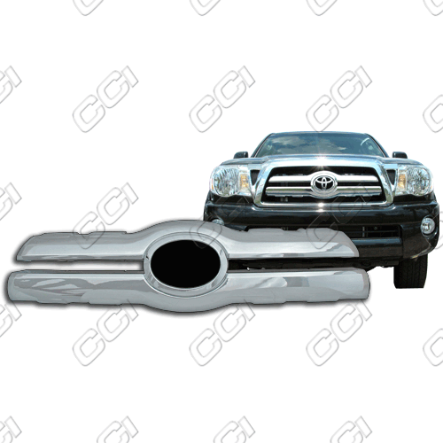 Toyota Tacoma  2005-2010 Chrome Front Grille Overlay