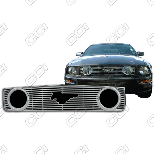 Ford Mustang Gt 2005-2009 Chrome Front Grille Overlay
