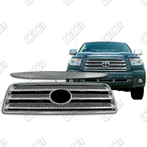 Toyota Tundra Limited, Sr5 2007-2009 Chrome Front Grille Overlay
