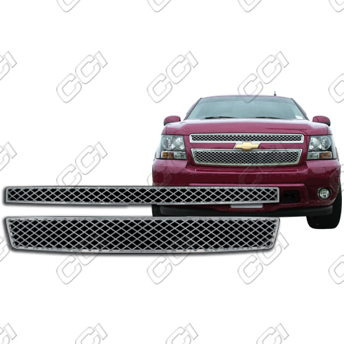 Chevrolet Tahoe Ls, Lt 2007-2013 Chrome Front Grille Overlay