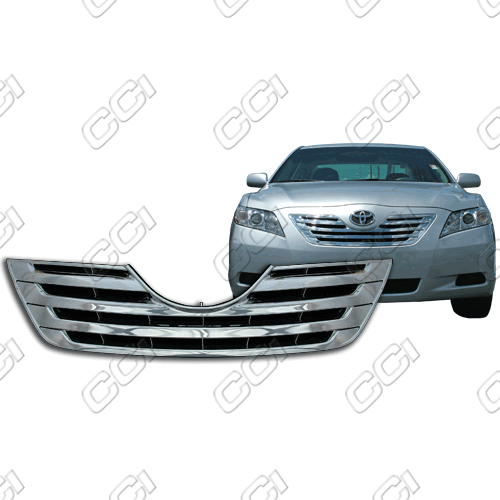 Toyota Camry Base, Le, Xle 2007-2009 Chrome Front Grille Overlay