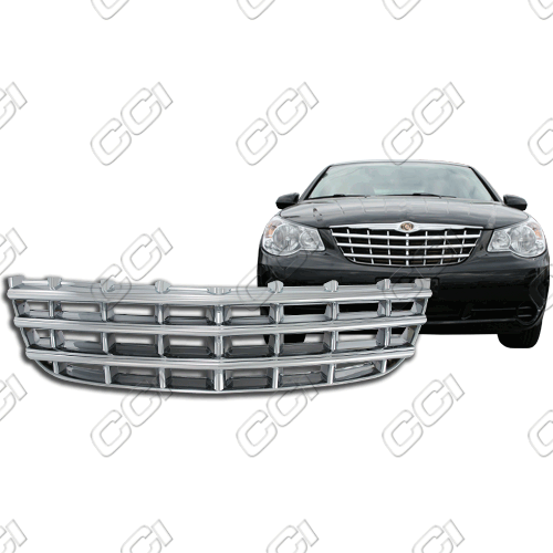 Chrysler Sebring Sedan Base, Lx, Touring 2007-2010 Chrome Front Grille Overlay
