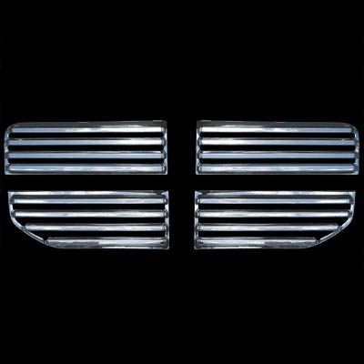 Dodge Nitro 2007-2009  Chrome Front Grill