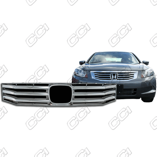 Honda Accord 4dr Lx, Ex, Ex-L 2008-2010 Chrome Front Grille Overlay
