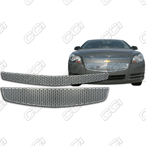 Chevrolet Malibu Ls, 1lt, 2lt, Ltz 2008-2012 Chrome Front Grille Overlay