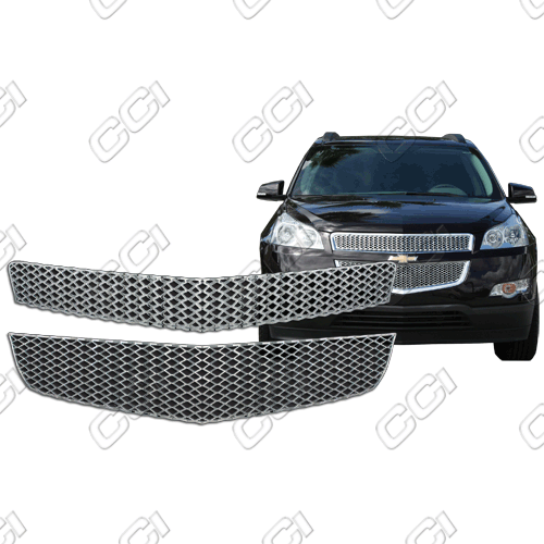 Chevrolet Traverse Ls, Lt 2009-2012 Chrome Front Grille Overlay