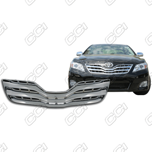 Toyota Camry Base, Le, Xle 2010-2011 Chrome Front Grille Overlay