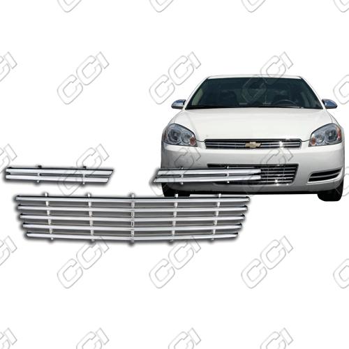 Chevrolet Impala Ls, Lt, Ltz 2006-2011 Chrome Front Grille Overlay