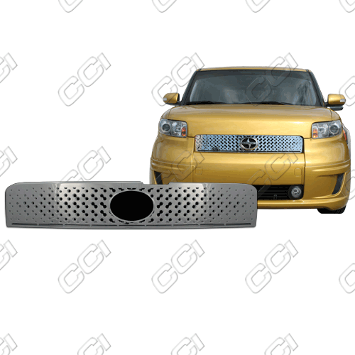 Scion XB  2008-2010 Chrome Front Grille Overlay