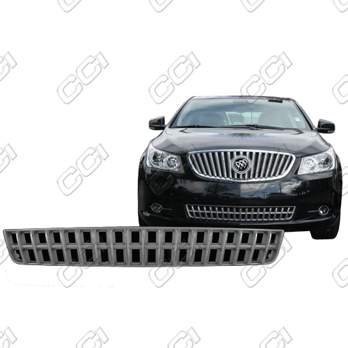 Buick Lacrosse  2013-2013 Chrome Front Grille Overlay Bottom-Black Vents