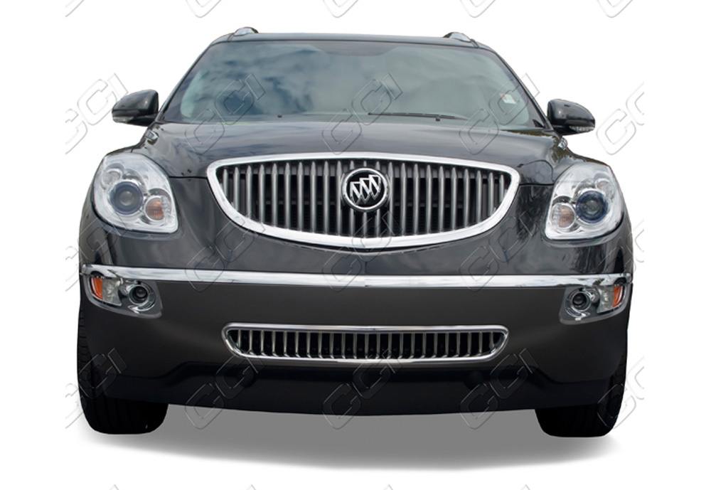 Buick Enclave  2008-2012 Chrome Front Grille Overlay Bottom