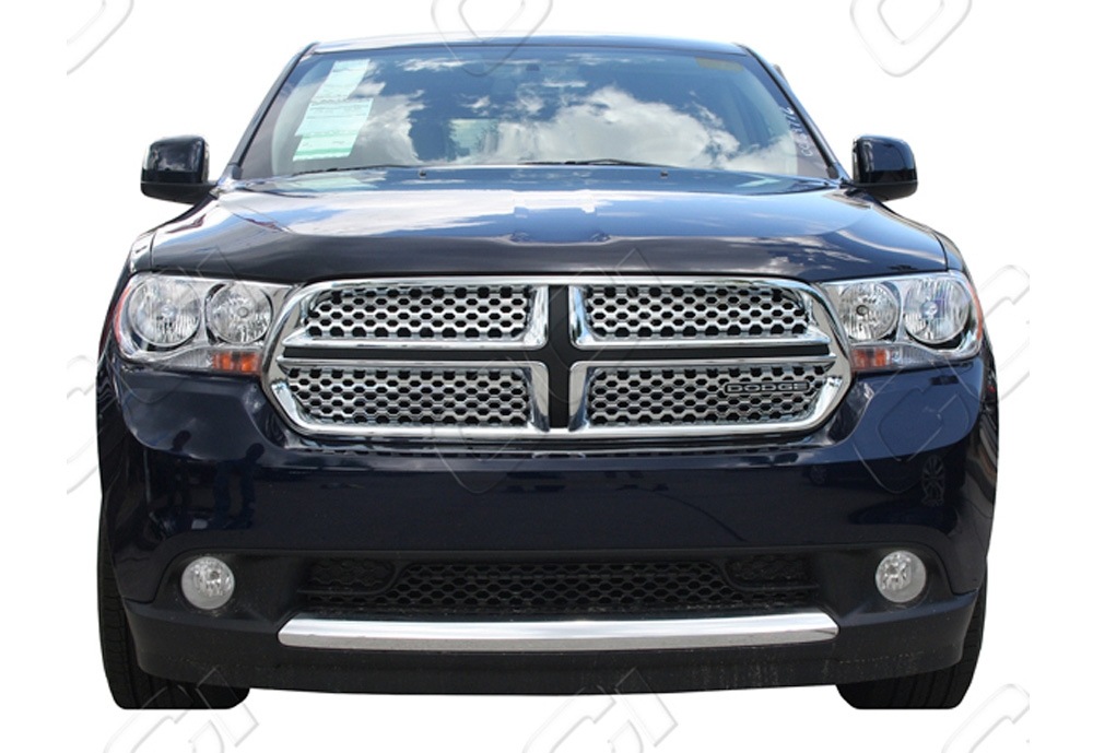 Dodge Durango Sxt, Crew, Express 2011-2012 Chrome Front Grille Overlay