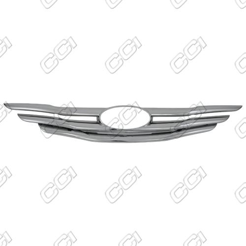 Hyundai Sonata Gls, Se, 2.0t 2011-2013 Chrome Front Grille Overlay