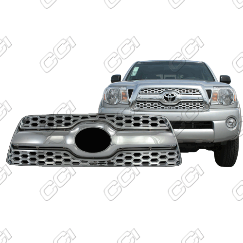 Toyota Tacoma  2011-2011 Chrome Front Grille Overlay