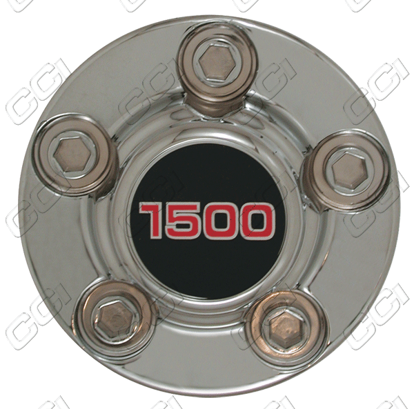 Chevrolet Suburban  1988-1999 4x2, Chrome Wheel Center Caps