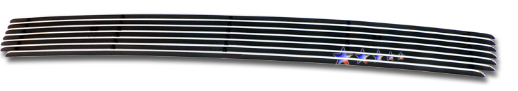 Jeep Compass  2006-2011 Polished Lower Bumper Aluminum Billet Grille