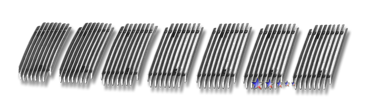 Jeep Grand Cherokee  2009-2010 Polished Main Upper Aluminum Billet Grille