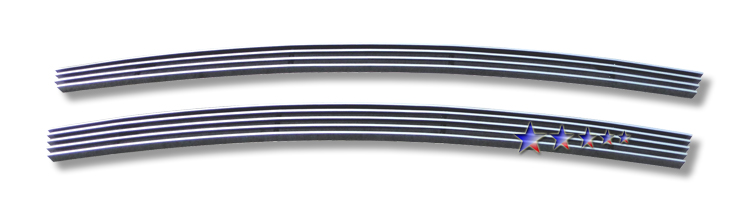Kia Amanti  2007-2009 Polished Lower Bumper Aluminum Billet Grille