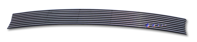 Kia Rio  2006-2009 Polished Lower Bumper Aluminum Billet Grille