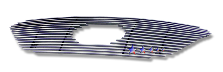 Kia Rondo  2009-2010 Polished Main Upper Aluminum Billet Grille