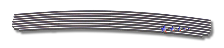 Kia Rondo  2009-2010 Polished Lower Bumper Aluminum Billet Grille