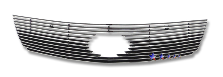 Kia Spectra  2007-2009 Polished Main Upper Aluminum Billet Grille