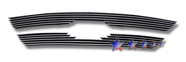 Kia Sorento  2009-2010 Polished Main Upper Aluminum Billet Grille