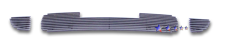 Kia Sportage  2005-2008 Polished Lower Bumper Aluminum Billet Grille