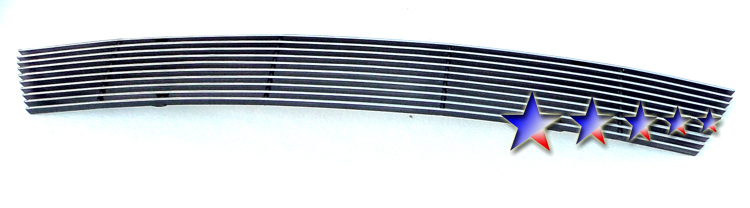 Kia Forte Koupe 2010-2012 Polished Lower Bumper Aluminum Billet Grille