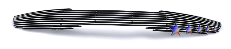 Kia Optima Ex 2011-2012 Polished Main Upper Aluminum Billet Grille