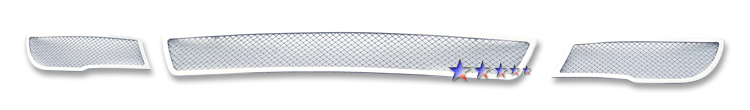 Kia Forte  2010-2011 Chrome Lower Bumper Mesh Grille