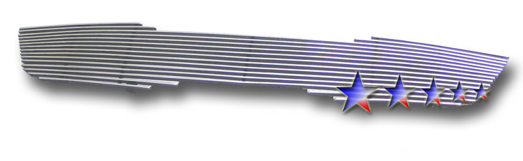 Kia Optima  2009-2010 Polished Main Upper Aluminum Billet Grille