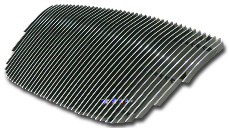 Kia Amanti  2004-2006 Polished Main Upper Aluminum Billet Grille