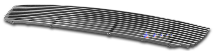 Kia Sportage  2005-2008 Polished Main Upper Aluminum Billet Grille